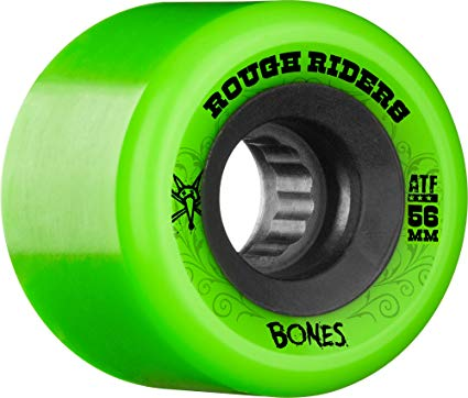 Bones ATF Rough Riders Wheels Green